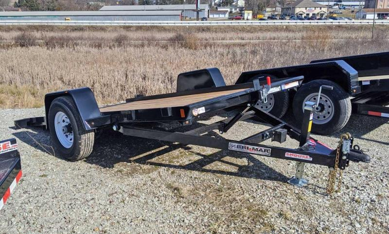 "NEW 2020 Bri-Mar 6'8"" x 12 Heavy Single Axle Tilt Trailer"