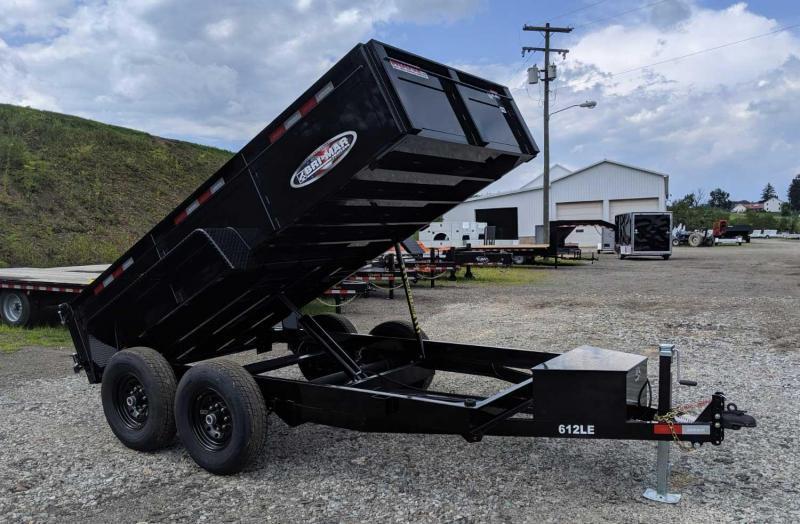 NEW 2022 Bri-Mar 6 x 12 Lo Pro Equipment Dump Trailer