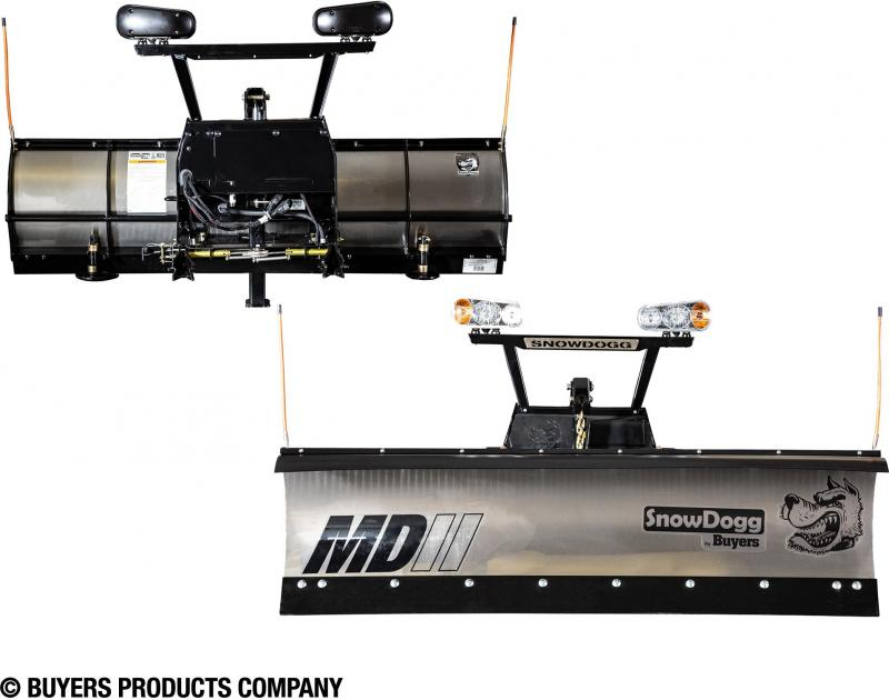 NEW SNOWDOGG 7.5' Extreme Duty Gen 2 Stainless Steel Snow Plow  **CALL FOR SPECIAL PRICING!!**