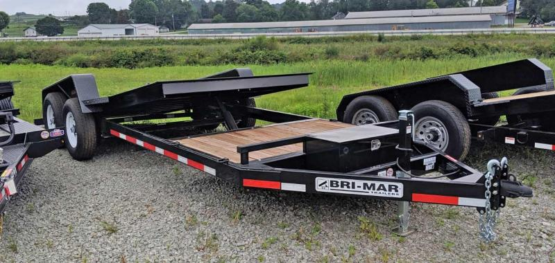NEW 2020 Bri-Mar 20' (4+16) Lo Pro Power Tilt Trailer