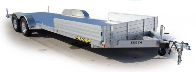 "NEW 2022 Aluma 6'9"" x 22 SR Utility Trailer w/ Side Ramps"