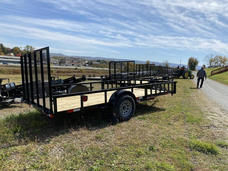 NEW 2022 Quality 7x14 PRO Utility w/ ATV Side Ramps