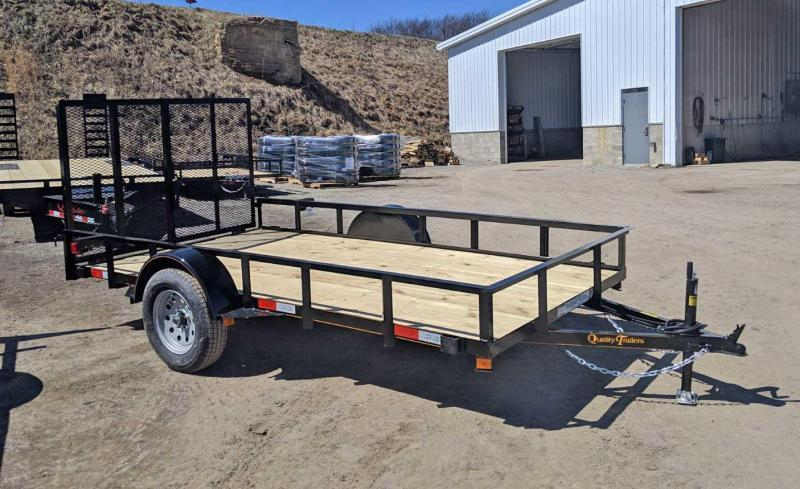 NEW 2021 Quality 6x12 General Duty Utility Trailer w/ LED Lights