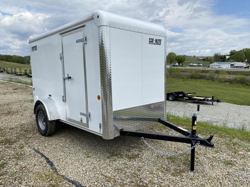 "NEW 2021 5x10 Sportster Cargo Trailer w/ Ramp Door, 6"" Add'l Hgt"