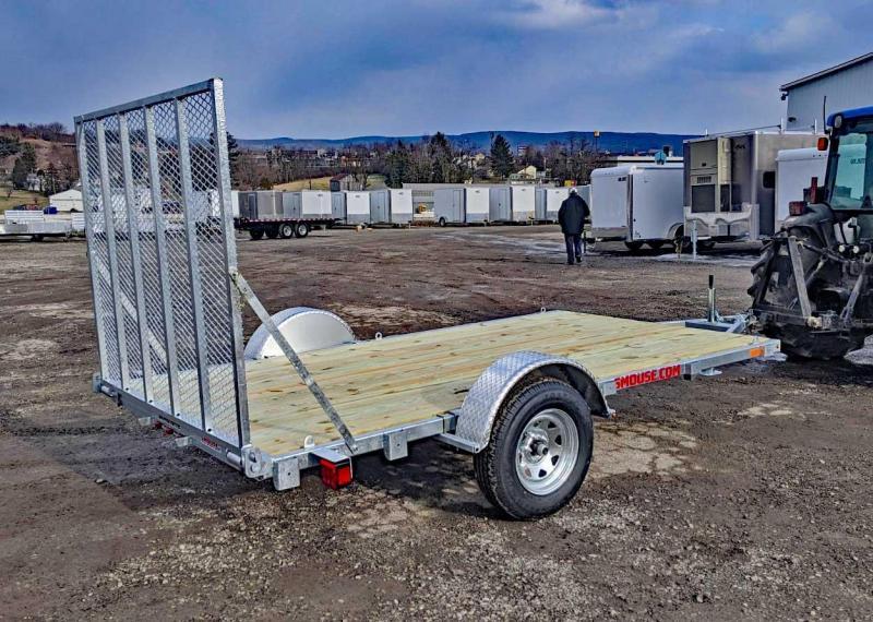 NEW 2020 Load Rite 6.5' x 12' GALVANIZED Utility Trailer