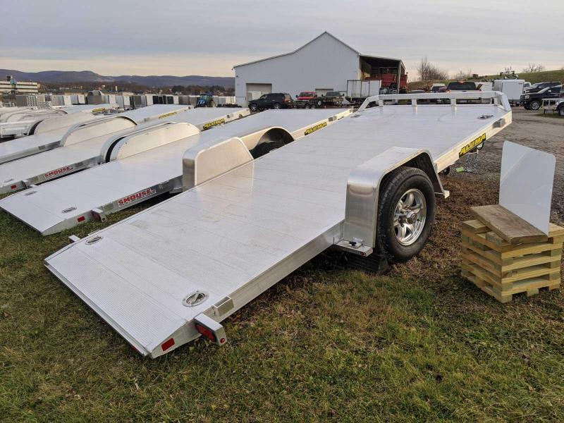 "NEW 2022 Aluma 6'10"" x 14' HD Single Axle Tilt Trailer"
