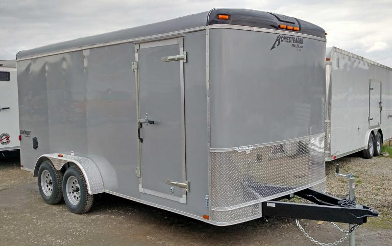 NEW 2021 Homesteader 7x16 Challenger Cargo Trailer w/ Rear Barn Doors