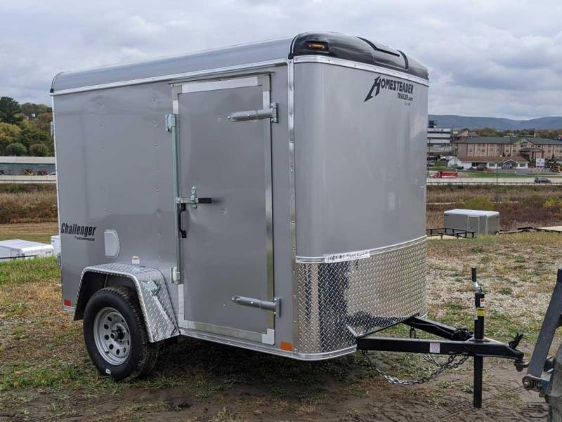 NEW 2021 Homesteader 5x8 Challenger Cargo Trailer w/ Single Rear Barn Door