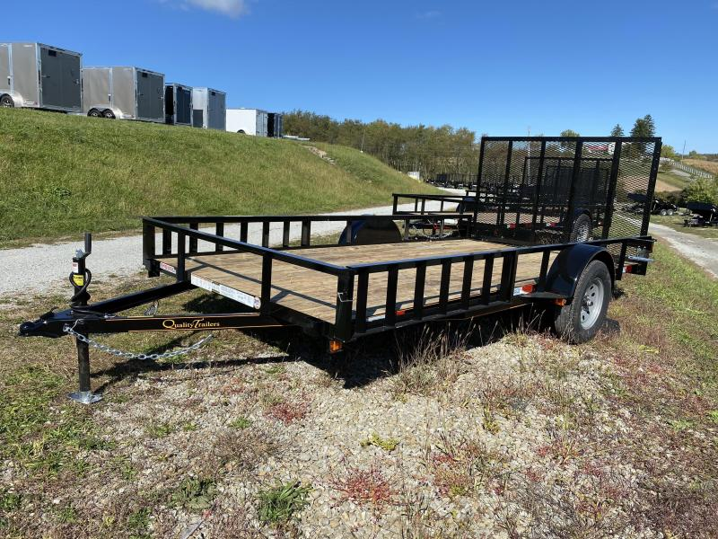 NEW 2021 Quality 7x14 General Duty Utility Trailer w/ATV Side Ramps