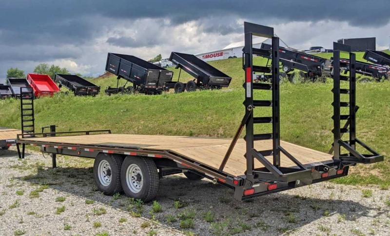 NEW 2022 Quality 18+4 General Duty Deckover Tagalong Trailer
