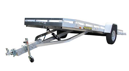 "NEW 2021 Aluma 6'6"" x 14' Single Axle Tilt Trailer"