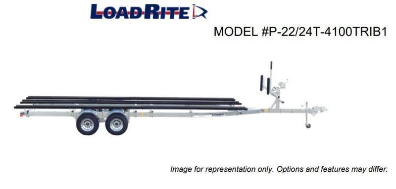 NEW 2022 Load Rite 22' - 24' Tritoon OR Pontoon Boat Trailer