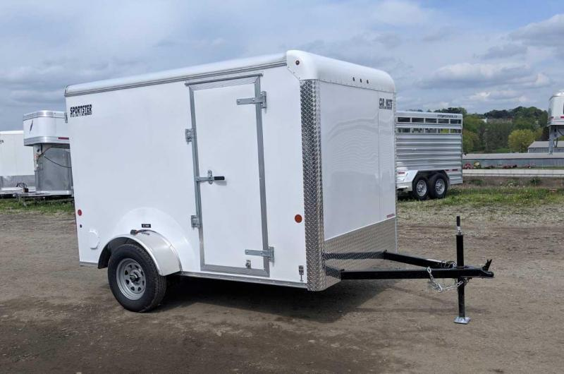 NEW 2020 Car Mate 6x12 Sportster Cargo Trailer w/ Ramp Door
