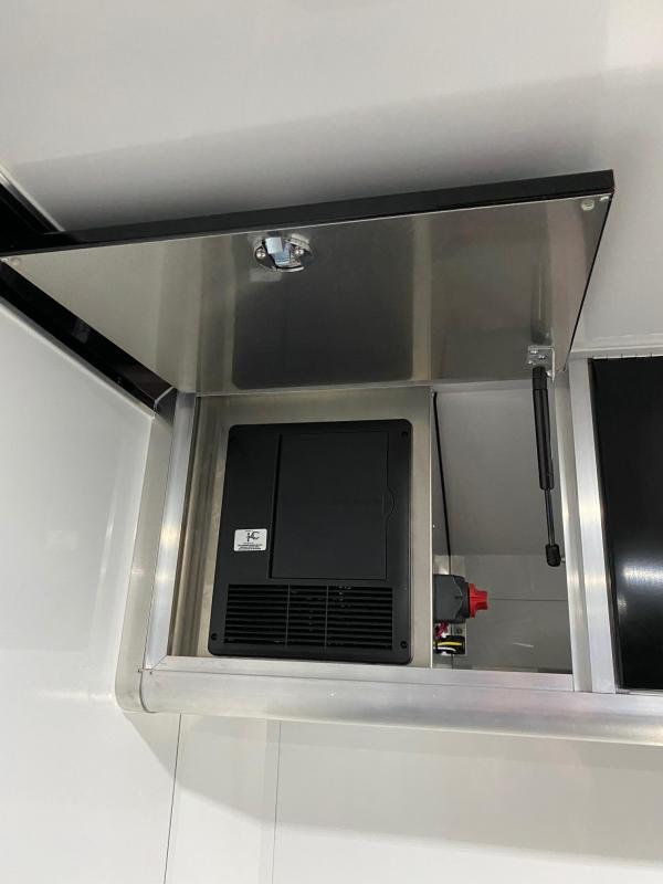 """NEW 2021 ATC 8.5 x 24 QUEST """"CH305"""" Enclosed ALUMINUM Car Hauler"""