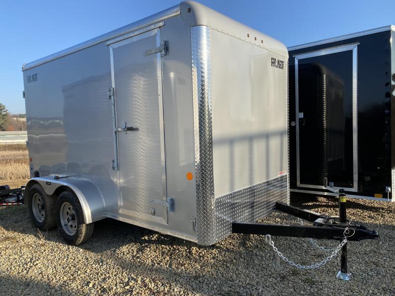 NEW 2021 Car Mate 6x12 Custom Cargo Tandem Trailer w/ Ramp Door