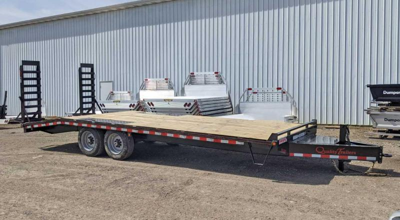 NEW 2021 Quality 18+5 HD Pro Series Deckover Tagalong w/ Spring Assist Ramps (7500# Axles!)