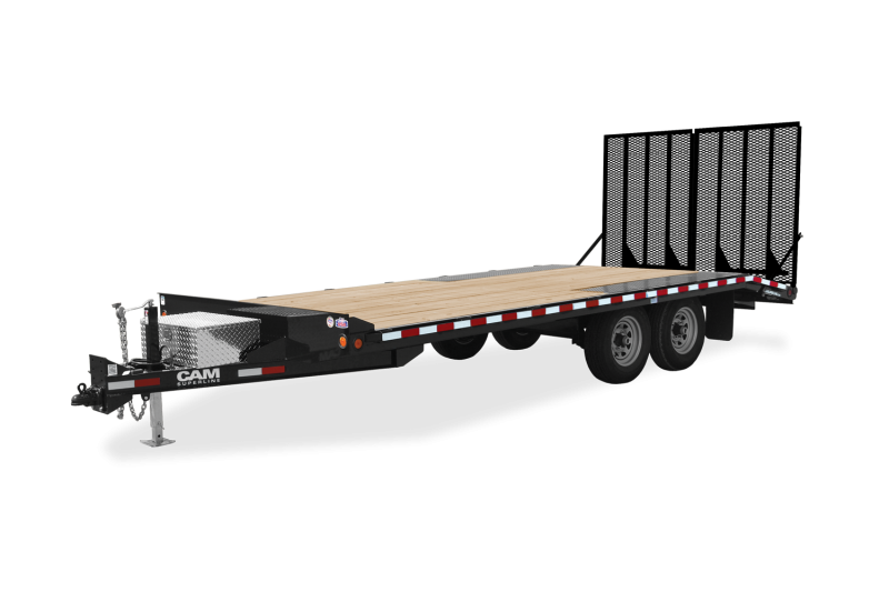 NEW 2021 CAM 15+3 LD Deckover Tagalong Trailer w/Landscape Ramps