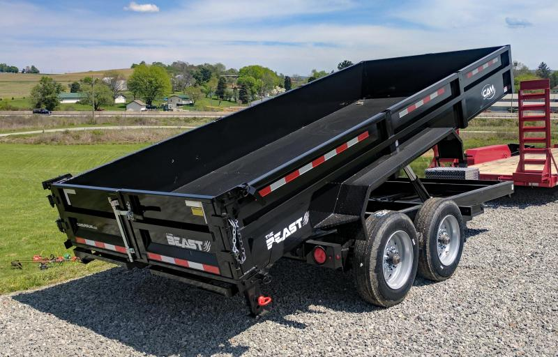 "NEW 2021 CAM Superline 6'9"" x 16' HD ""Beast"" Lo Pro Equipment Dump (8K Axles)"