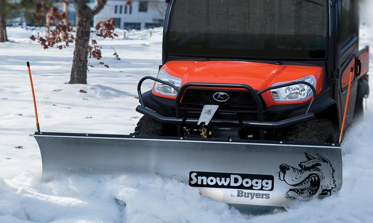 NEW 2020 SNOWDOGG 6' UTV Stainless Steel Snow Plow