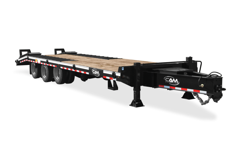NEW 2021 CAM SUPERLINE 24+5 (25 TON) HD Tri-Axle Deckover Tagalong w/ Air Lift Axle