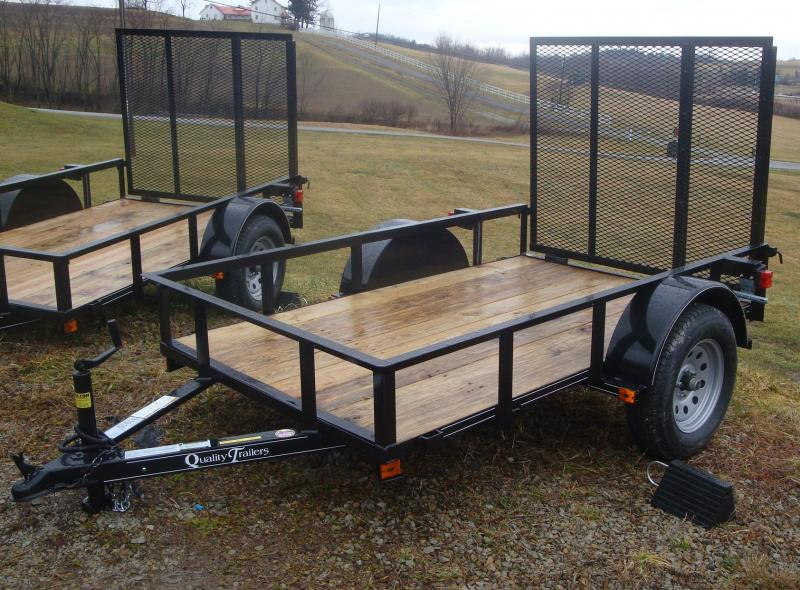 NEW 2021 Quality 5x8 Econo Utility Trailer