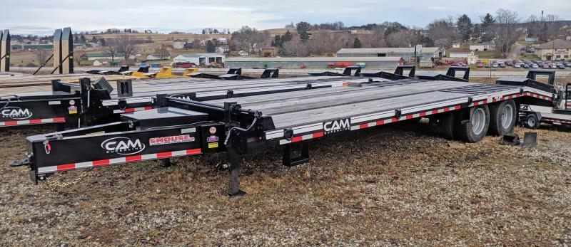 NEW 2021 CAM 20+5 HD Deckover Tagalong w/ Electric Brakes
