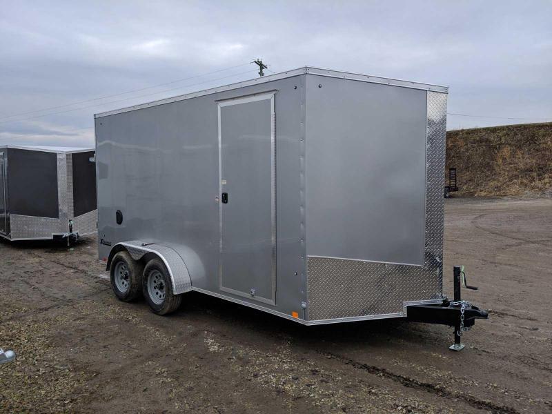 NEW 2020 Cargo Express 7x16 XLW V-Nose Cargo Trailer w/ Ramp Rear Door