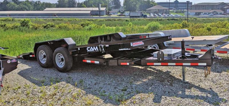 NEW 2021 CAM 18' Lo Pro Full Tilt Trailer