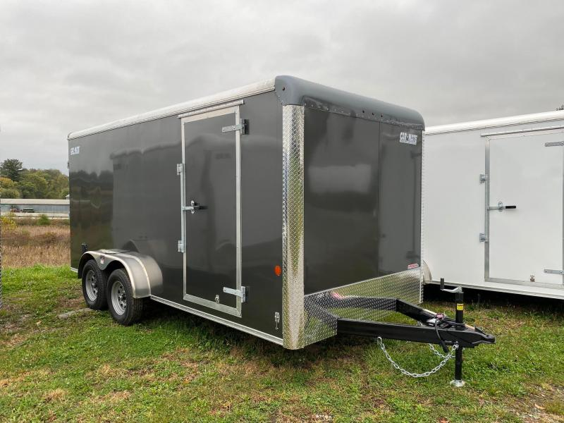NEW 2022 Car Mate 7x16 HD Custom Cargo Trailer w/ Rear Ramp Door