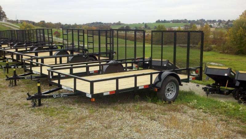 NEW 2021 Quality 6x12 Econo Utility Trailer