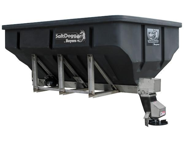2021 SALTDOGG 4 YARD Electric Poly Hopper Spreader Salt Spreader