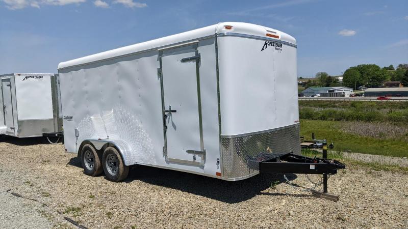 NEW 2021 Homesteader 7x16 Challenger Cargo Trailer w/ Rear Barn Doors
