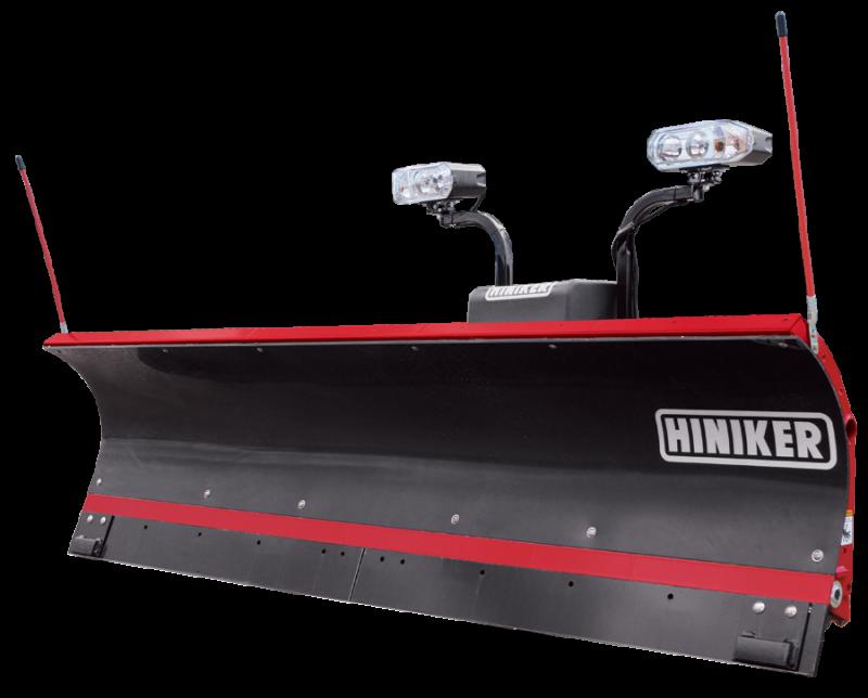 NEW Hiniker 9' Torsion-Trip Poly Straight Blade Plow
