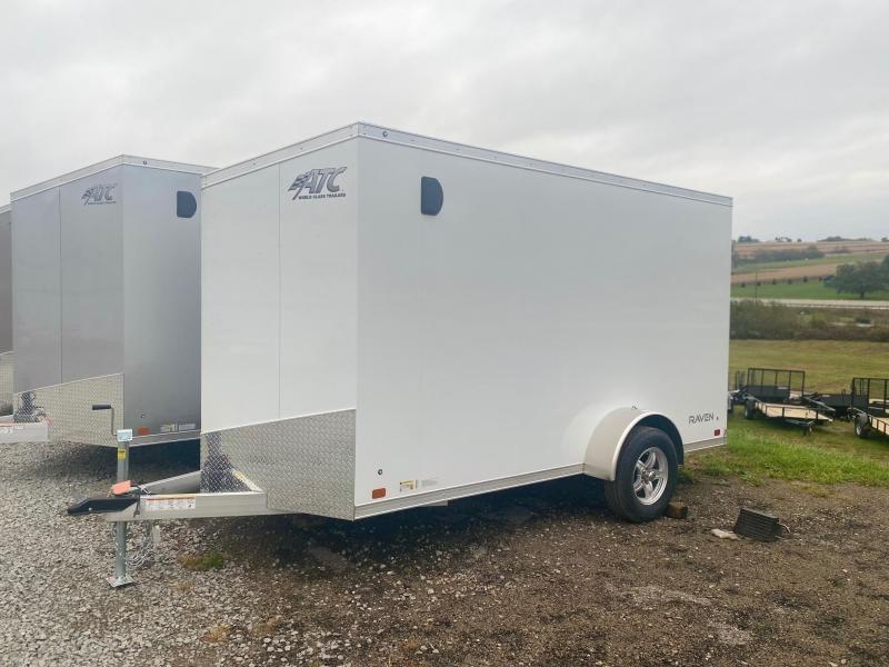 "NEW 2022 ATC 6x12 RAVEN ""LIMITED"" Cargo Trailer w/ Rear Barn Doors"