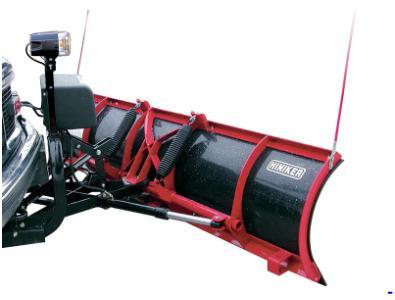 NEW HINIKER 7.5' Mid Size HDPE Poly Full Trip Snow Plow