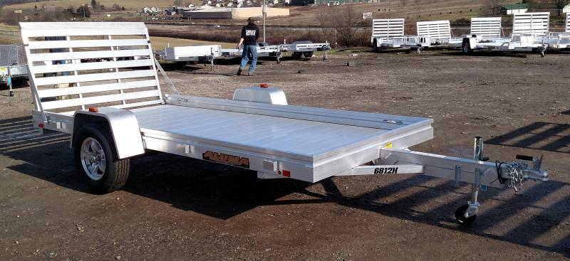 "NEW 2021 Aluma 5'8"" x 12 HD Utility Trailer"