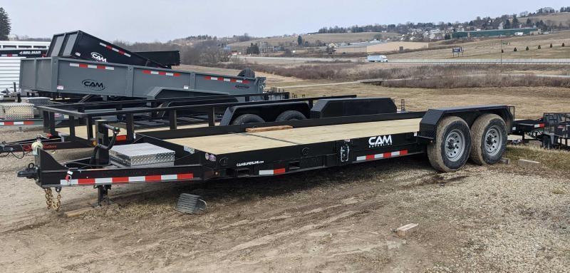 NEW 2021 CAM 20' (5+15) Lo Pro Split Tilt Trailer (7K Axles)