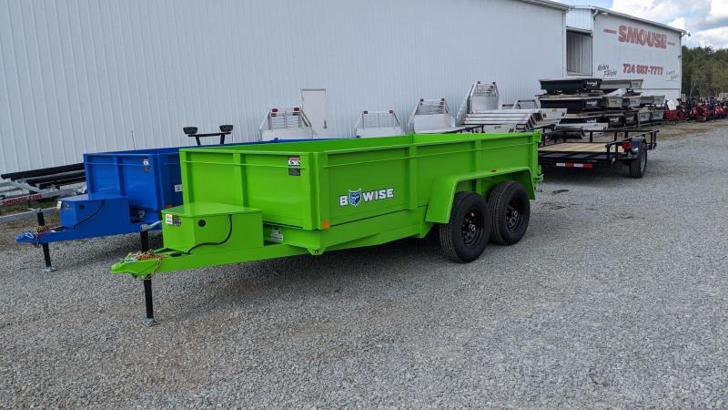 NEW 2022 BWise 6x12 Lo Pro Equipment Dump