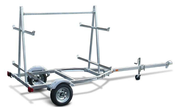 NEW 2021 Load Rite 4 Place Kayak Trailer