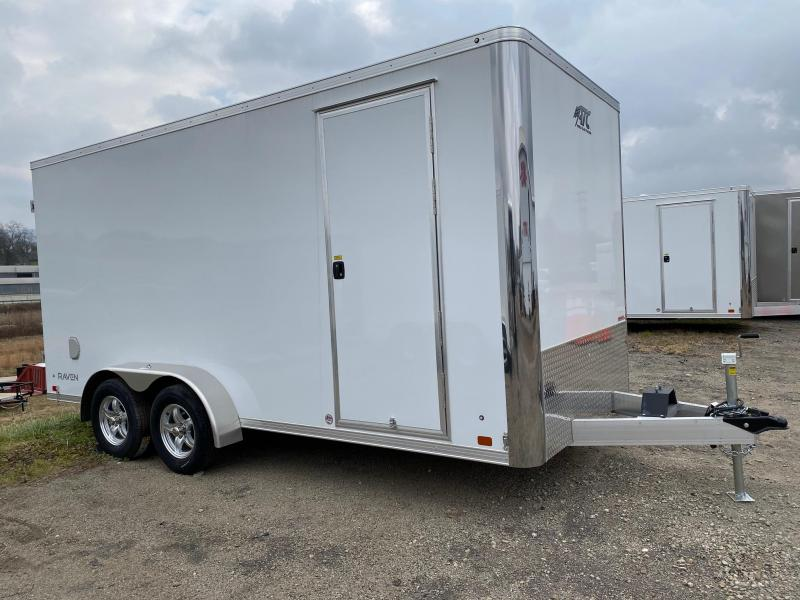 NEW 2020 ATC 7x14 Raven ALUMINUM Cargo Trailer w/ Rear Barn Doors