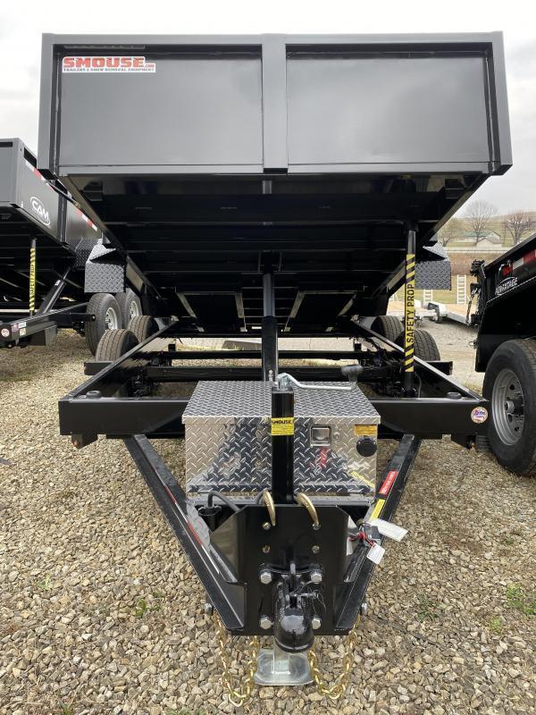 NEW 2021 CAM Superline 6x12 Lo Pro Equipment Dump w/ Underbody Ramps