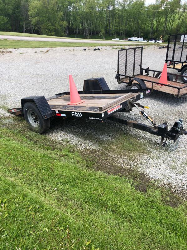 USED 2019 CAM 6x12 Single Axle Tilt Trailer