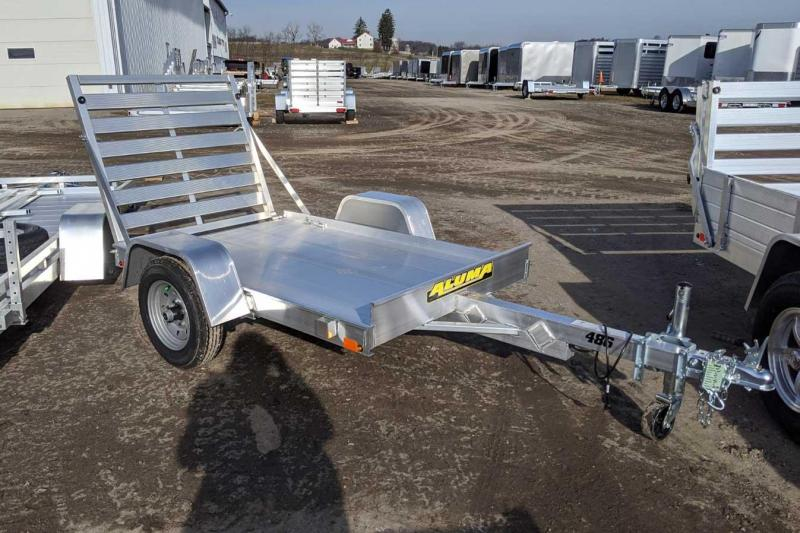 NEW 2022 Aluma 4x6 LW Utility Trailer