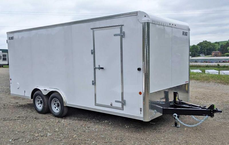 NEW 2021 Car Mate 8x20 HD Contractor Style Cargo Trailer w/ Rear Barn Doors