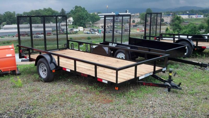 NEW 2021 Quality 6x14 PRO Utility Trailer w/ Spring Assist / Lay Flat Gate
