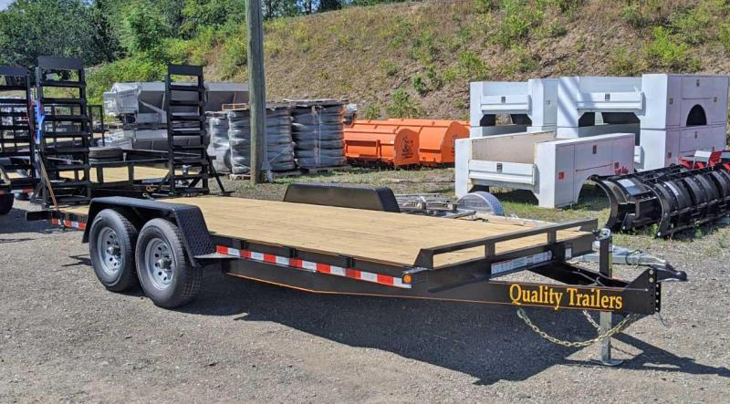 NEW 2021 Quality 18' General Duty Equipment Hauler NO DOVE