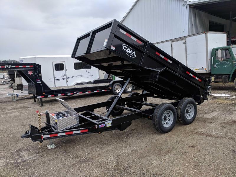 NEW 2021 CAM Superline 6x12 Lo Pro Equipment Dump Trailer