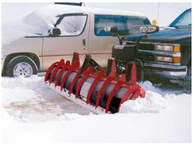 NEW HINIKER 9' HDPE Poly C-Plow Trip Edge w/LED Lites