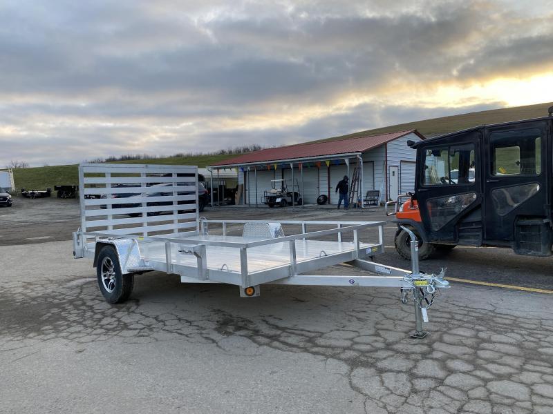 USED 2020 Quality Steel & Aluminum 7x12 Aluminum Utility Trailer