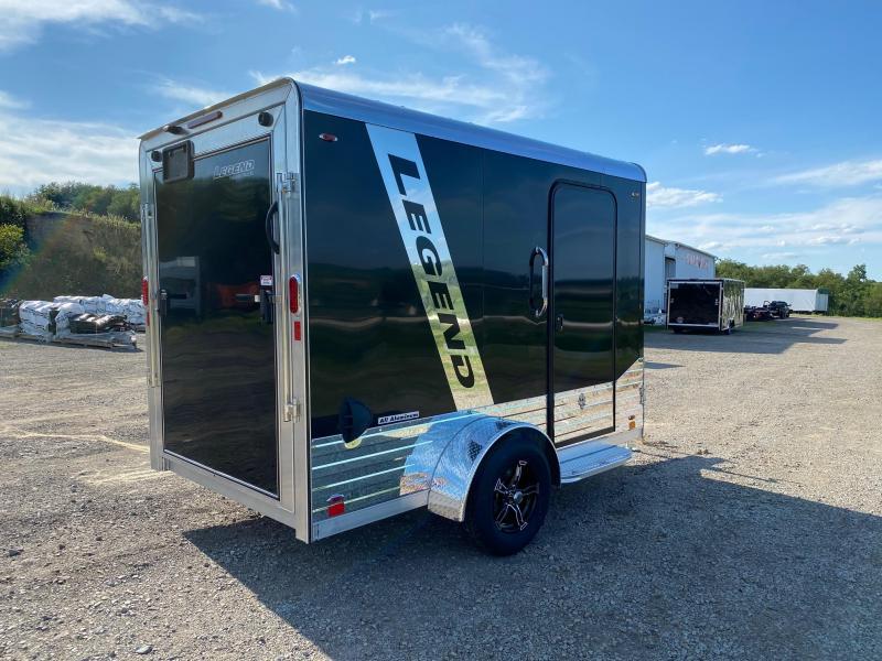 NEW 2021 Legend 6x10 +3' DELUXE V-NOSE Enclosed Aluminum Trailer w/ Rear Ramp Door